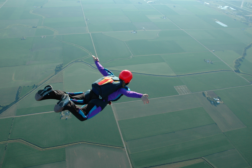 Skydiver For the Love of The Leap