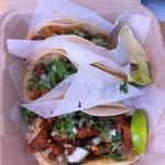 Tacos from one of Portland Oregon's famous food carts