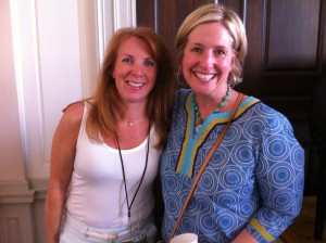 with speaker Brene Brown at WDS 2012